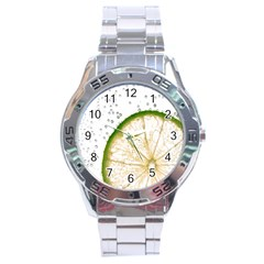 Lime Stainless Steel Analogue Watch