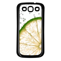 Lime Samsung Galaxy S3 Back Case (black)