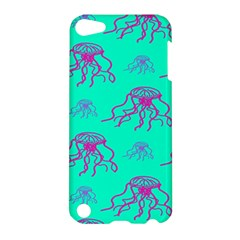 Jellyfish Pink Green Blue Tentacel Apple Ipod Touch 5 Hardshell Case