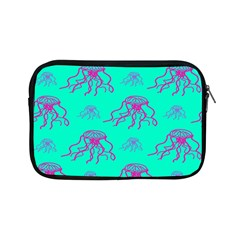 Jellyfish Pink Green Blue Tentacel Apple Ipad Mini Zipper Cases