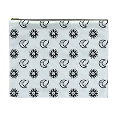 Month Moon Sun Star Cosmetic Bag (xl) by Jojostore