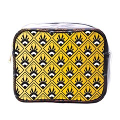 Original Honey Bee Yellow Triangle Mini Toiletries Bags