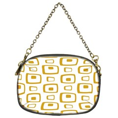 Plaid Gold Chain Purses (two Sides)