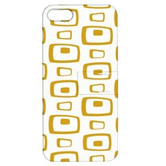 Plaid Gold Apple Iphone 5 Hardshell Case With Stand by Jojostore