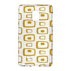 Plaid Gold Galaxy Note Edge by Jojostore