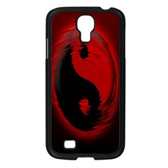Red Black Taichi Stance Sign Samsung Galaxy S4 I9500/ I9505 Case (black)
