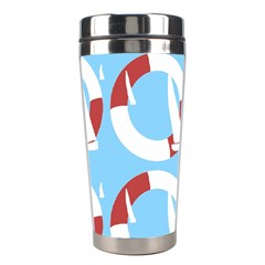 Sail Summer Buoy Boath Sea Water Stainless Steel Travel Tumblers