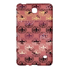 Overlays Pink Flower Floral Samsung Galaxy Tab 4 (8 ) Hardshell Case  by Jojostore