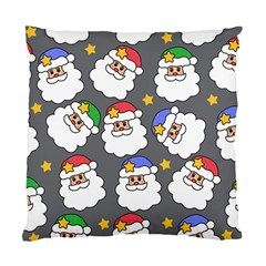Santa Claus Face Mask Crismast Standard Cushion Case (two Sides) by Jojostore