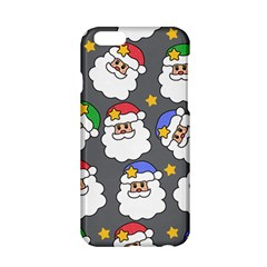Santa Claus Face Mask Crismast Apple Iphone 6/6s Hardshell Case by Jojostore