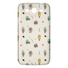 Slippers Lamp Glasses Ice Cream Grey Wave Water Samsung Galaxy Mega 5 8 I9152 Hardshell Case  by Jojostore