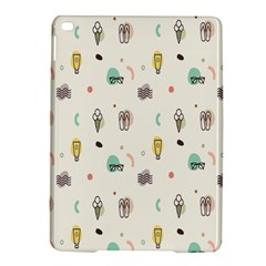 Slippers Lamp Glasses Ice Cream Grey Wave Water Ipad Air 2 Hardshell Cases by Jojostore