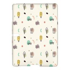 Slippers Lamp Glasses Ice Cream Grey Wave Water Samsung Galaxy Tab S (10 5 ) Hardshell Case  by Jojostore