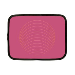 Tumblr Static Pink Wave Fingerprint Netbook Case (small)