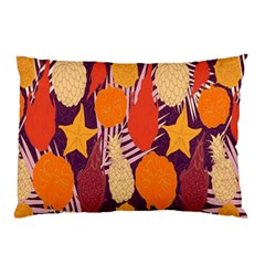 Tropical Mangis Pineapple Fruit Tailings Pillow Case (two Sides)