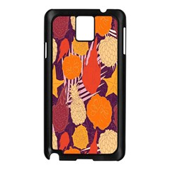 Tropical Mangis Pineapple Fruit Tailings Samsung Galaxy Note 3 N9005 Case (black)