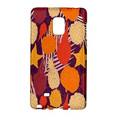 Tropical Mangis Pineapple Fruit Tailings Galaxy Note Edge by Jojostore
