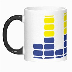 Volumbia Olume Circle Yellow Blue Red Morph Mugs by Jojostore