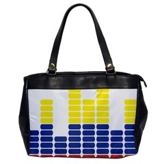 Volumbia Olume Circle Yellow Blue Red Office Handbags