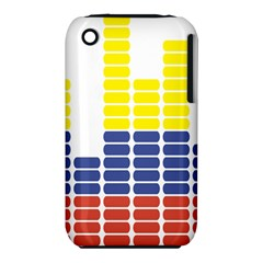 Volumbia Olume Circle Yellow Blue Red Iphone 3s/3gs by Jojostore