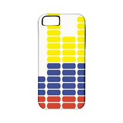 Volumbia Olume Circle Yellow Blue Red Apple Iphone 5 Classic Hardshell Case (pc+silicone) by Jojostore