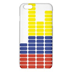 Volumbia Olume Circle Yellow Blue Red Iphone 6 Plus/6s Plus Tpu Case