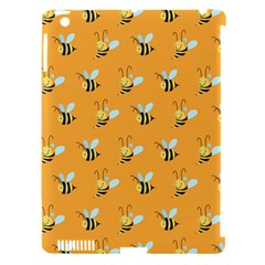 Wasp Bee Hanny Yellow Fly Animals Apple Ipad 3/4 Hardshell Case (compatible With Smart Cover) by Jojostore