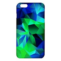 Galaxy Chevron Wave Woven Fabric Color Blu Green Triangle Iphone 6 Plus/6s Plus Tpu Case by Jojostore