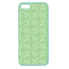 Formula Leaf Floral Green Apple Seamless Iphone 5 Case (color) by Jojostore