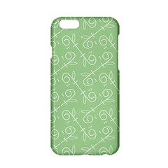 Formula Leaf Floral Green Apple Iphone 6/6s Hardshell Case by Jojostore