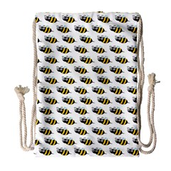Wasp Bee Eye Fly Line Animals Drawstring Bag (large)