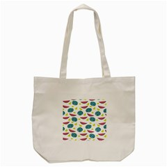 Summer Fruit Watermelon Water Guava Onions Tote Bag (cream) by Jojostore