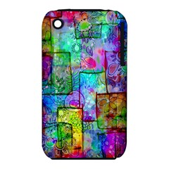 Rainbow Floral Doodle Iphone 3s/3gs by KirstenStar