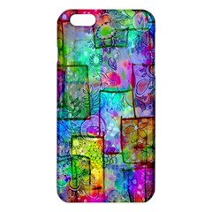 Rainbow Floral Doodle Iphone 6 Plus/6s Plus Tpu Case by KirstenStar