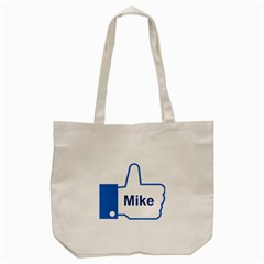 Thumb Up Tote Bag (cream) by strawberrymilkstore8