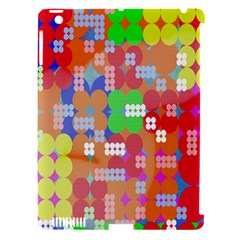 Abstract Polka Dot Pattern Apple Ipad 3/4 Hardshell Case (compatible With Smart Cover) by Nexatart