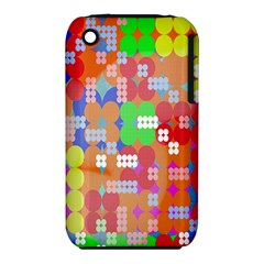 Abstract Polka Dot Pattern Iphone 3s/3gs by Nexatart