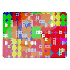 Abstract Polka Dot Pattern Samsung Galaxy Tab 10 1  P7500 Flip Case
