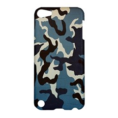 Blue Water Camouflage Apple Ipod Touch 5 Hardshell Case by Nexatart