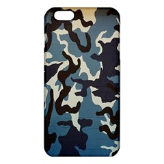 Blue Water Camouflage Iphone 6 Plus/6s Plus Tpu Case