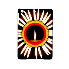 Candle Ring Flower Blossom Bloom Ipad Mini 2 Hardshell Cases by Nexatart