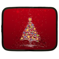 Colorful Christmas Tree Netbook Case (xl)