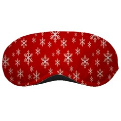 Christmas Snow Flake Pattern Sleeping Masks by Nexatart