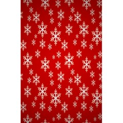 Christmas Snow Flake Pattern 5 5  X 8 5  Notebooks by Nexatart