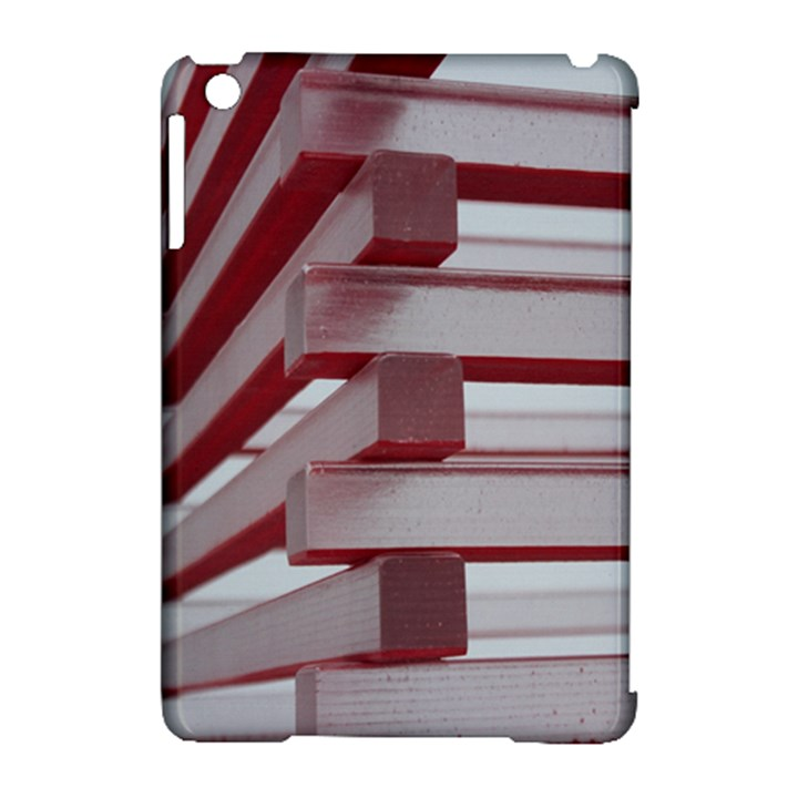 Red Sunglasses Art Abstract Apple iPad Mini Hardshell Case (Compatible with Smart Cover)