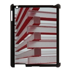 Red Sunglasses Art Abstract Apple Ipad 3/4 Case (black)
