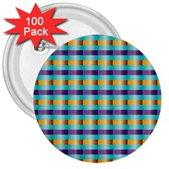 Pattern Grid Squares Texture 3  Buttons (100 Pack)  by Nexatart