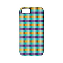 Pattern Grid Squares Texture Apple Iphone 5 Classic Hardshell Case (pc+silicone) by Nexatart