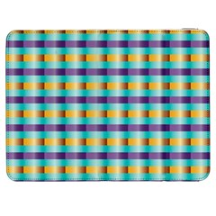 Pattern Grid Squares Texture Samsung Galaxy Tab 7  P1000 Flip Case by Nexatart