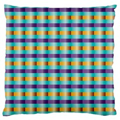 Pattern Grid Squares Texture Standard Flano Cushion Case (two Sides) by Nexatart